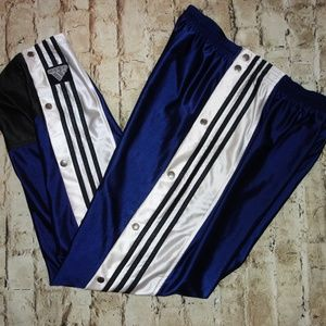 Vintage Snap Off Athletic Sweatpants Adidas